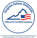 Virginia Values Veterans Certified