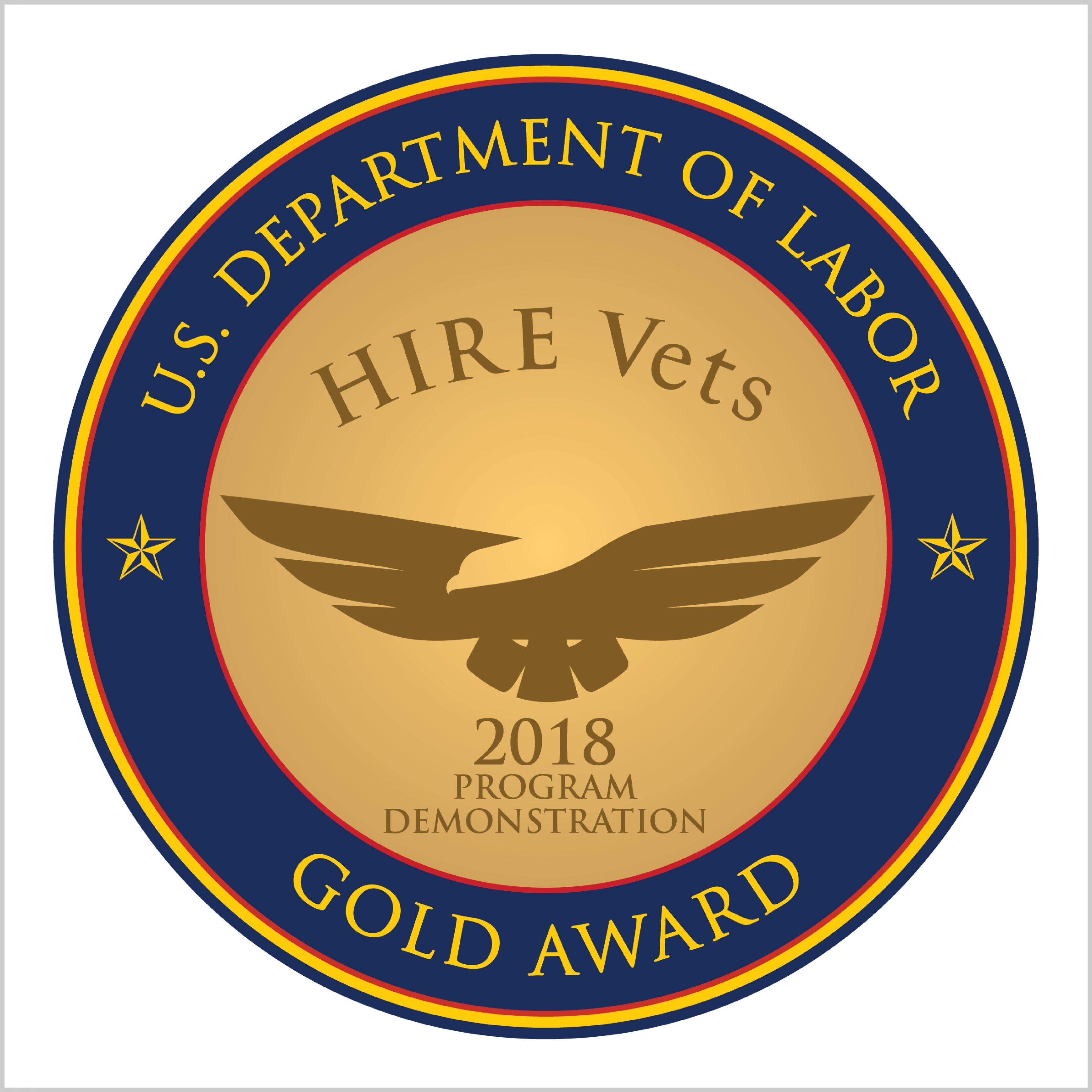 Hire Vets Award