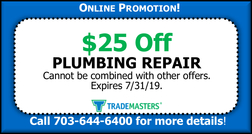 Coupon - Plumbing Repair