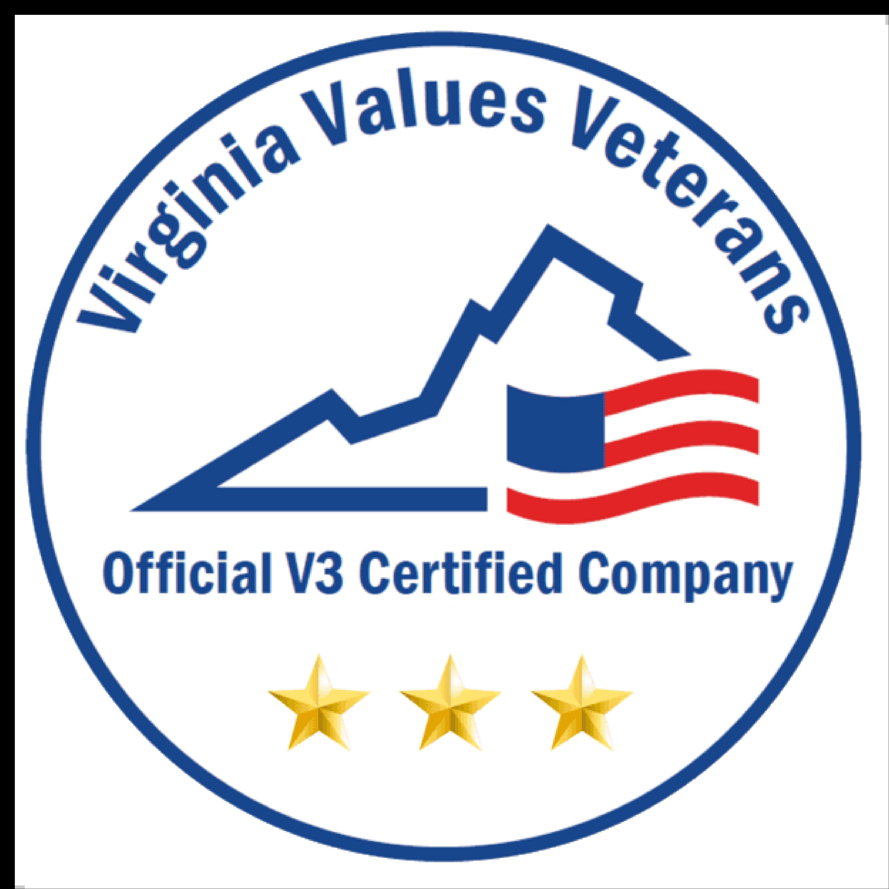 Virginia Values Veterans Certified