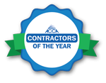 ACC badge - Contractor of the year
