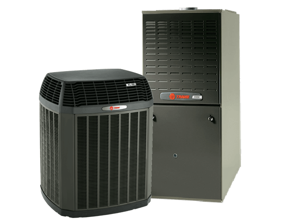a new trane hvac system from trademasters