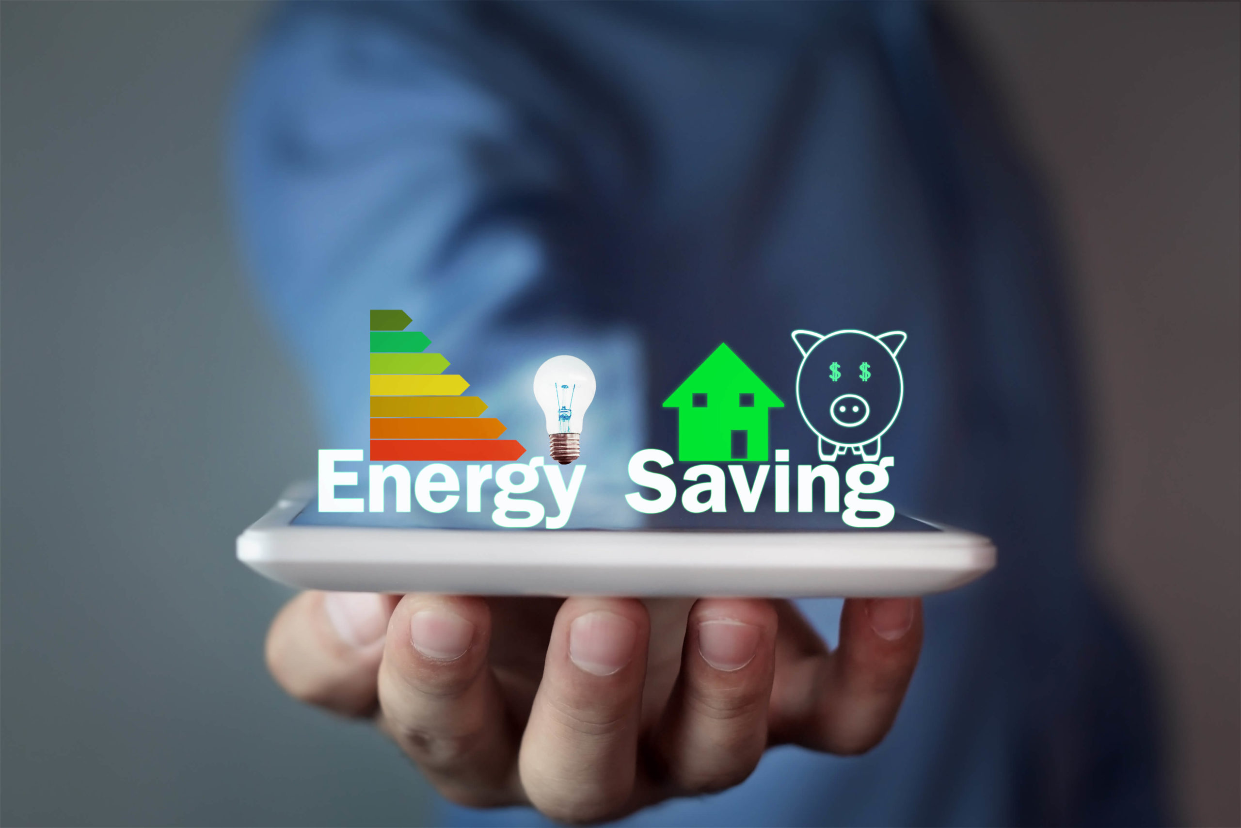 Energy Saving Graphic.